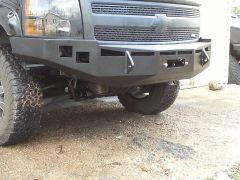 Chev 1500 (07-14) Front Winch Bumper