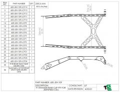Ford Ranger Backhalf Setup with Jeepspeed Cell and Sway Bar - Plasma Table Friendly