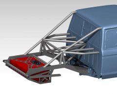 83-97 Ford Ranger Backhalf with Tube Structure from Tekk - Plasma Table Friendly
