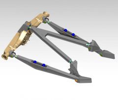 "3 Link Kit for Stock Ford 9"" Housing - Plasma Table Friendly"