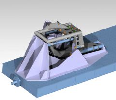 Stage 2 Swinger Steering Centermount Bulkhead CAD files for PSS Steering Box and ID Designs Ram