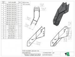 T4 Trophy Truck Rear Pivot - Raised Lower Link Pivot