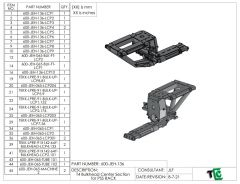 Stage 3 Trophy Truck Centermount Bulkhead CAD File for PSS Rack