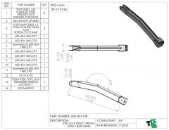 """T4 Trophy Truck Front Sway Bar Arm 17"""""""