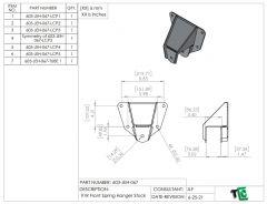 Ford Ranger Front Spring Hangers - PTF