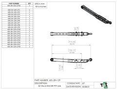 """36"""" DUAL Shock Rock Racer Link Arm - PTF"""