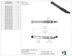 """37"""" DUAL Shock Rock Racer Link Arm - PTF"""