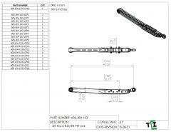 """40"""" DUAL Shock Rock Racer Link Arm - PTF"""