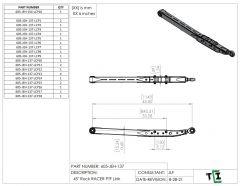 """45"""" DUAL Shock Rock Racer Link Arm - PTF"""