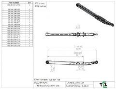 """46"""" DUAL Shock Rock Racer Link Arm - PTF"""