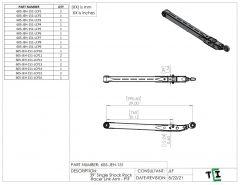 "39"" Single Shock Rock Racer Link Arm - PTF"