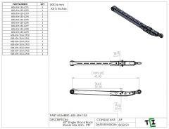 "43"" Single Shock Rock Racer Link Arm - PTF"