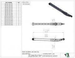 "44"" Single Shock Rock Racer Link Arm - PTF"