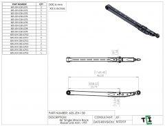 "46"" Single Shock Rock Racer Link Arm - PTF"