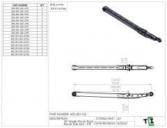 "50"" Single Shock Rock Racer Link Arm - PTF"