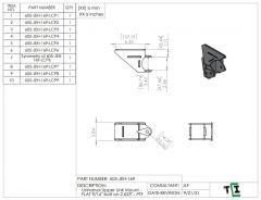 "Universal Upper Link Mount - FLAT 9/16"" bolt on 2.625"" - PTF"