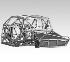 Stage 2 Fullsize Luxury Prerunner Tube Chassis Assembly - Crew Cab and Ext Cab