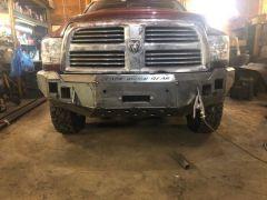 Dodge Ram (10-18) 2500/3500 Front Winch Bumper Build Plans